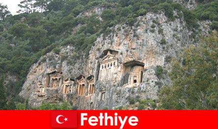 Ville de Fethiye dans le sud-ouest de la Turquie
