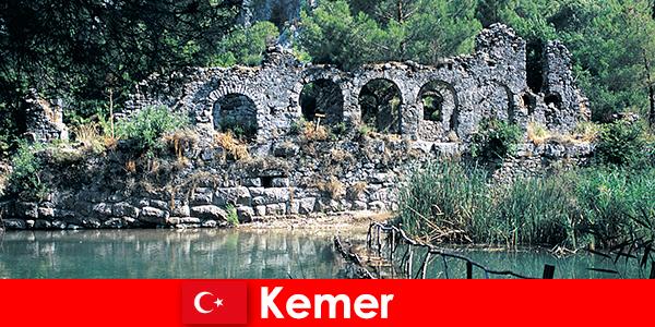 Kemer représente la partie européenne de la Turquie