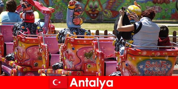 De belles vacances en famille à Antalya en Turquie