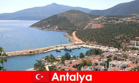 Plages à Antalya Turquie