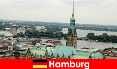 Voyage et divertissement à Reeperbahn dans la ville de Hambourg