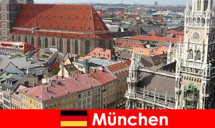 En tant que vacancier avec des possibilités de jogging ou de remise en forme dans la ville de Munich