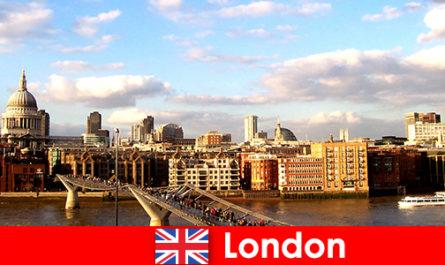 Activités de loisirs pour les touristes dans la ville de Londres depuis l'Angleterre