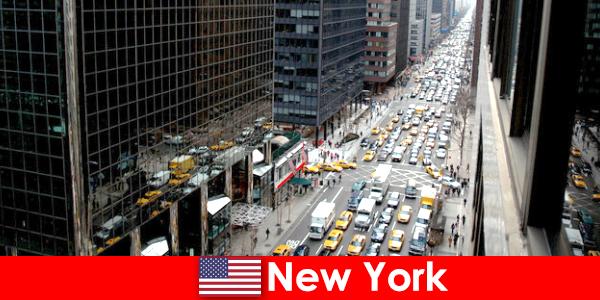 Vivez des vacances pas chères dans la grande ville de New York