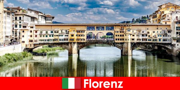 Émigré à Florence en tant que retraité avec famille et enfants