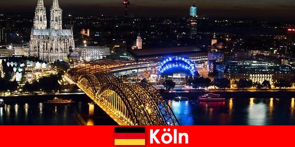 Musique, culture, sports, fête ville de Cologne en Allemagne pour tous les âges