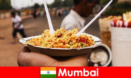 Mumbai est un endroit connu des touristes pour ses vendeurs de rue et sa nourriture