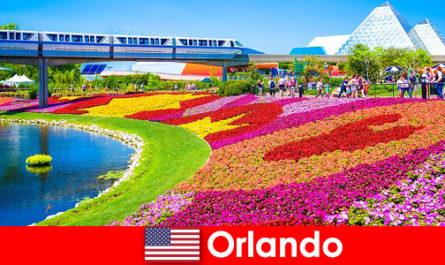 Orlando est la capitale touristique des États-Unis avec de nombreux parcs à thème