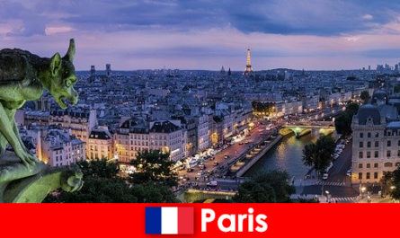Paris, ville d'artistes avec une fascination particulière pour les bâtiments