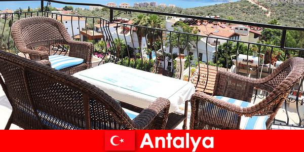 L'hospitalité en Turquie est à nouveau confirmée par les touristes à Antalya
