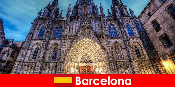 Barcelone inspire chaque invité avec des témoignages d'une culture millénaire