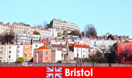 Bristol la ville avec la culture des jeunes et une atmosphère amicale pour les étrangers