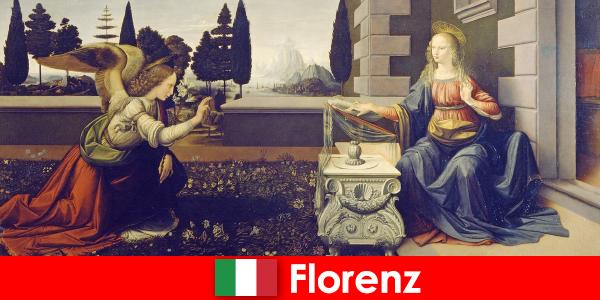 Les touristes connaissent l'importance culturelle de Florence pour les arts visuels