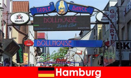 Hamburg Reeperbahn - bordels de vie nocturne et service d'escorte pour le tourisme sexuel