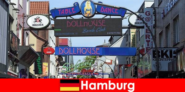 Hamburg Reeperbahn – bordels de vie nocturne et service d'escorte pour le tourisme sexuel