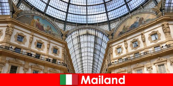 Ambiance mystérieuse à Milan avec des symboles de la Renaissance