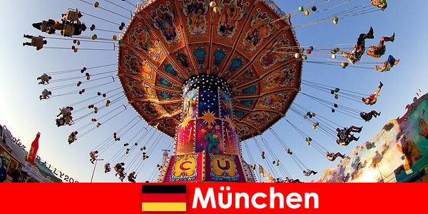 Manifestations sportives internationales et Oktoberfest à Munich est un pôle d'attraction pour les visiteurs