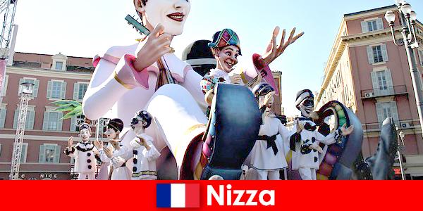 Attraction touristique à Nice avec enfants et grands moments forts