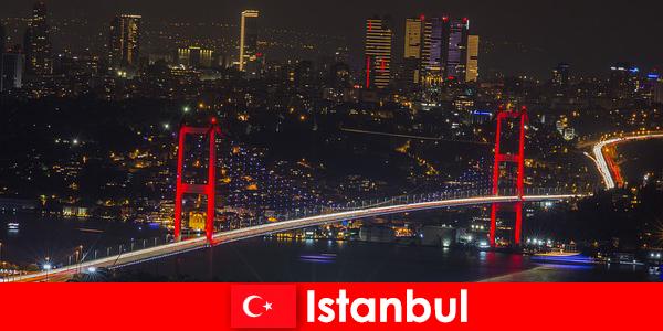 Vie nocturne dans les pubs, bars et clubs d'Istanbul pour les jeunes