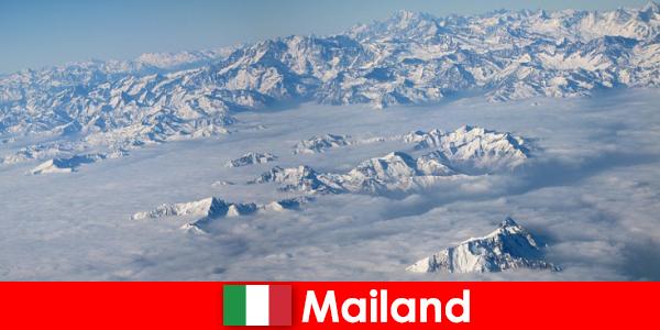 Milan l'une des meilleures stations de ski pour les touristes en Italie