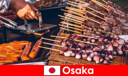 Osaka est la cuisine du Japon et un port d'escale pour tous ceux qui recherchent une aventure de vacances