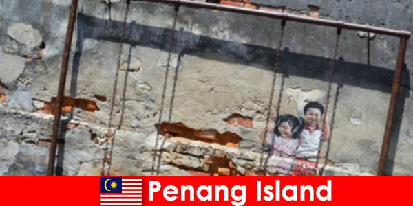 Le street art fascinant et diversifié de l'île de Penang surprend les étrangers
