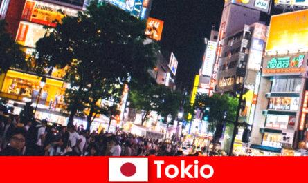 Tokyo pour les vacanciers dans la ville scintillante de néons la vie nocturne parfaite