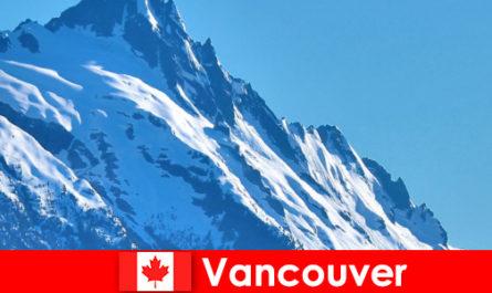 La ville de Vancouver au Canada est la principale destination du tourisme d'alpinisme