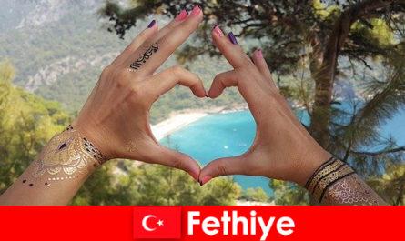 Vacances à la plage en Turquie Fethiye pour petits et grands toujours un rêve