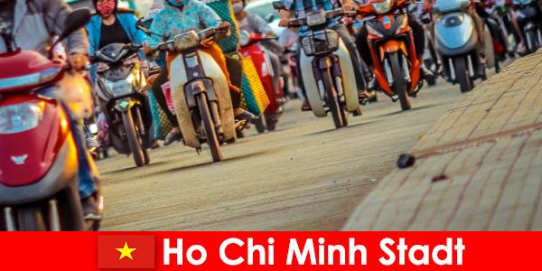 Ho Chi Minh Ville est toujours un plaisir pour les cyclistes et les sportifs