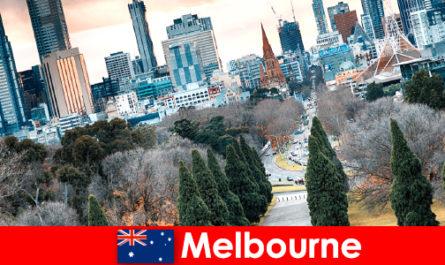 La diversité culturelle de Melbourne ravit également les petits vacanciers