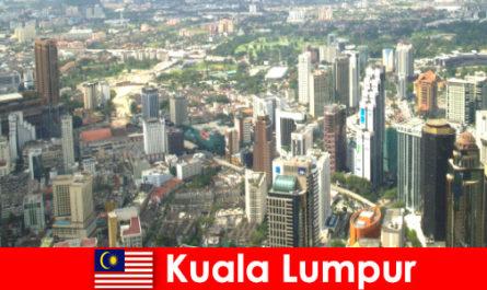 Kuala Lumpur en Malaisie Les amoureux de l'Asie viennent ici encore et encore