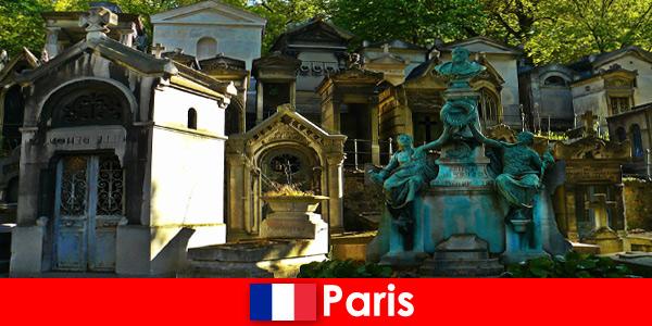 Voyage en Europe pour les amoureux des cimetières avec des tombes extraordinaires en France Paris