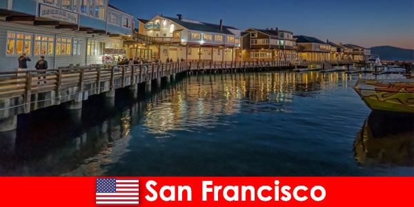San Francisco aux États-Unis, le front de mer est un secret préféré des vacanciers