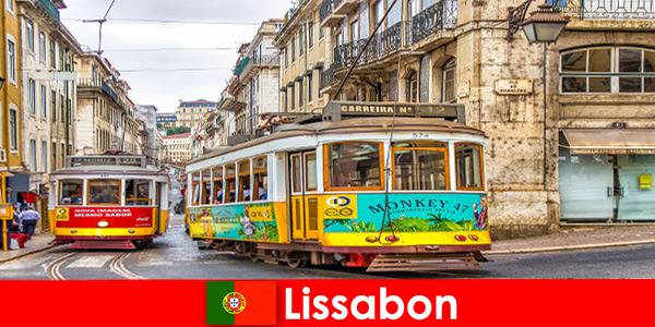 Rues historiques de Lisbonne Portugal avec une touche de nostalgie pour le voyageur culturel