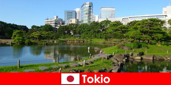 Les touristes apprécient de près les traditions anciennes et nouvelles à Tokyo au Japon