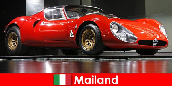 Milan Italie a toujours été une destination de voyage populaire pour les amateurs de voitures du monde entier