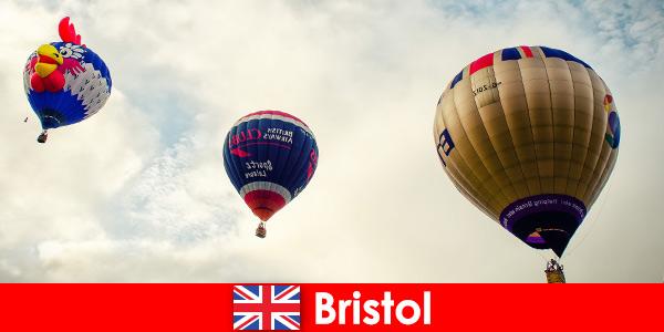 Maison de vacances pour les touristes courageux pour les vols en montgolfière au-dessus de Bristol en Angleterre