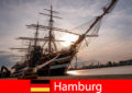 Allemagne Débarquement dans le port de Hambourg vers le marché aux poissons pour les gourmets du voyage