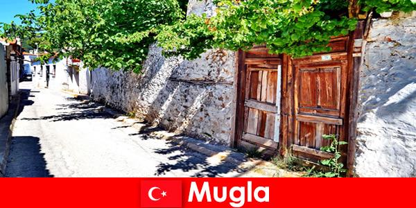 Des villages pittoresques et des habitants accueillants accueillent les touristes à Mugla en Turquie