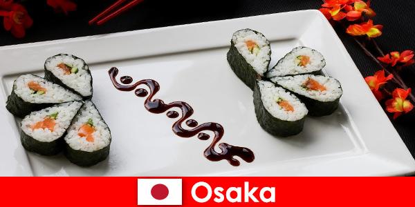 Osaka Japon pour les étrangers une visite gastronomique de la ville