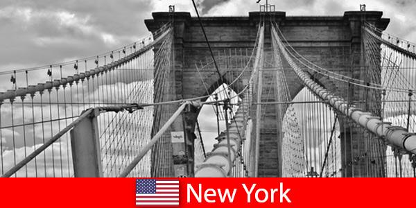 Voyage spontané à l'étranger dans la métropole de New York États-Unis