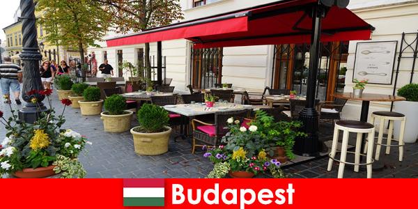 Courte destination de vacances à Budapest Hongrie pour les visiteurs ayant un goût pour la gastronomie haut de gamme