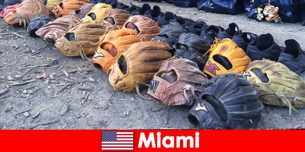 Des vacances de rêve pour les voyageurs dans les parcs sportifs de Miami États-Unis